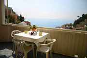 Great sea-view from Colomba apartment n� 6