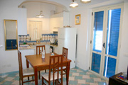 Holiday Apartment in Sorrento: Kitchen of Holiday Apartment Marina Grande in Sorrento
