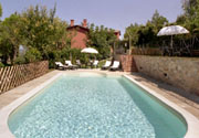 Swimming pool of Casa Perugino