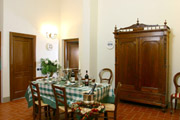 Tuscany Florence Home: Dining-room of Vasari Home