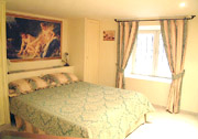 Rome Apartment Rental: Double bedroom of Tritone Type D Rental Apartment in Rome