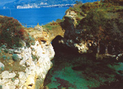 Residence in Sorrento: Small beach of Pollio Felice