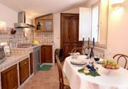 Kitchen of Casa Bonfigli