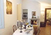 Stanza vivente del Casa Bonfigli