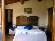 Florenz Ferienwohnung: Doppelschlafzimmer der Ferienwohnung Fienile