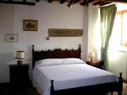 Florenz Urlaub: Anderes Doppelschlafzimmer der Ferienwohnung Loggia