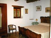 Florenz Urlaub: Doppelschlafzimmer der Ferienwohnung Loggia