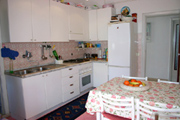 Appartement � Sorrente: La cuisine de l'Appartement Chiara � Sorrente