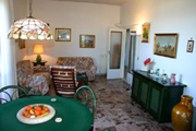 Apartment in Sorrento: The living-room of Chiara Apartment in Sorrento