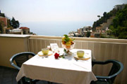 Vue mer de l'Appartement Cinzia n 7  Positano