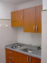 Ferienwohnung in Positano: Die Küche der Ferienwohnung Ludovica Typ B in Positano