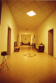 Nice Monastery in Piano: Corridor of the monastery Sant'Elisabetta