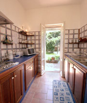 Kitchen of Casa Pinturricchio