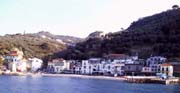 Residence in Sorrento: Photo of the Puolo beach near the apartments of Kalimera Residence