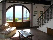 Florenz Ferienwohnung: Wohnzimmer der Ferienwohnung Fienile
