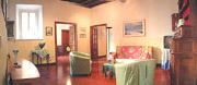 Rom Ferienwohnung: Wohnzimmer der Ferienwohnung Scandenberg in Rom