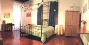 Rom Ferienwohnung: Doppelschlafzimmer der Ferienwohnung Scandenberg in Rom