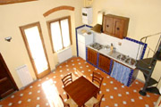 Tuscany Florence Suite: Dining-room with kitchen of Lippi Suite in Florence