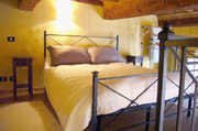 Apartment Rental Florence: Double Bedroom of Botticelli Apartment in Florence
