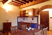 Tuscany Vacation Rental: Kitchen and Dining room of Latini Rental Apartment in Florence