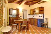 Suite Firenze Toscana: Sala da pranzo con cucina della Suite Uccello a Firenze