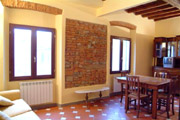 Suite Florence Tuscany: Dining-room of Uccello Apartment in Florence