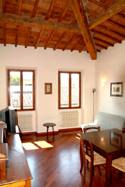 Accommodation in Florence: Living room of Donzella Accommodation in Florence