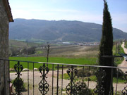 Florence Apartment: View of the Chianti Hills of Florence