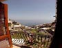 Apartment Urlaub Positano: Meersicht vom kleinen Balkon des Apartments Ludovica Typ C in Positano