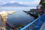 Vacances Appartement à Sorrente: Splendide vue mer dés la terrace de l'Appartement pour vacances Marina Grande à Sorrente