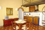 Florence Vacation Rental: Dining-room with kitchen of Benozzo Vacation Apartment in Florence