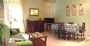 Rome Accommodation: Living-room with dining table of Tritone Type B Accommodation in Rome