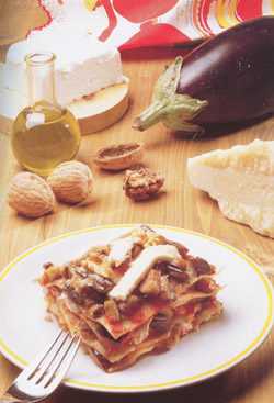 LASAGNE WITH RICOTTA - Pasta - Speciality from Sicily