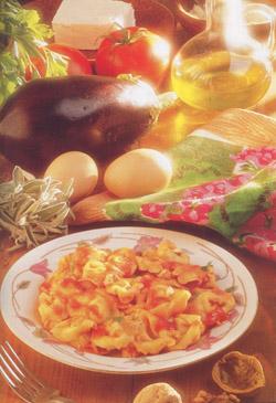 TORTELLINI CON LA RICOTTA  - Pasta - Specialità di Bologna