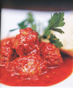 MEATBALLS IN TOMATO SAUCE - Speciality from Naples